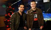 Mezut Ozil y Sami Khedira te desean Feliz Navidad 2010