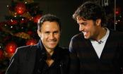 Ricardo Carvalho y Pedro León felicitan la Navidad 2010