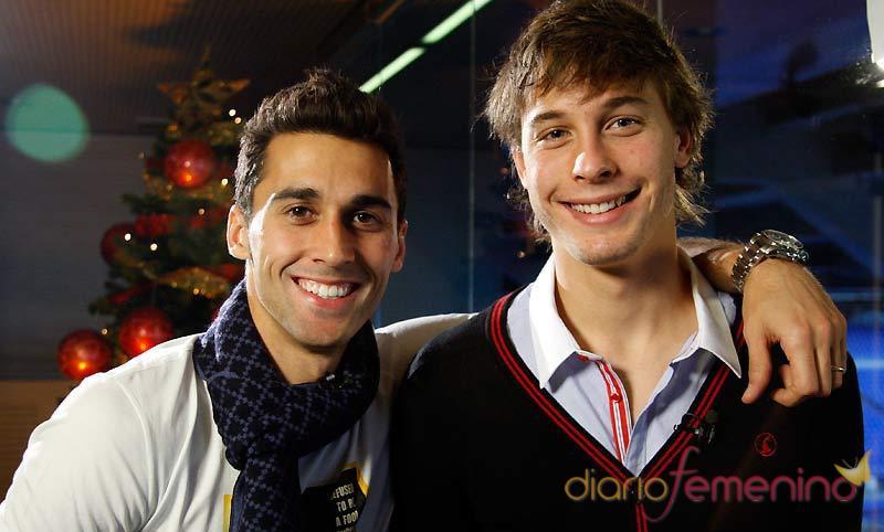Álvaro Arbeloa y Sergio Canales felicitan la Navidad 2010