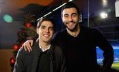 Raúl Albiol y Kaká desean a la afición felices fiestas