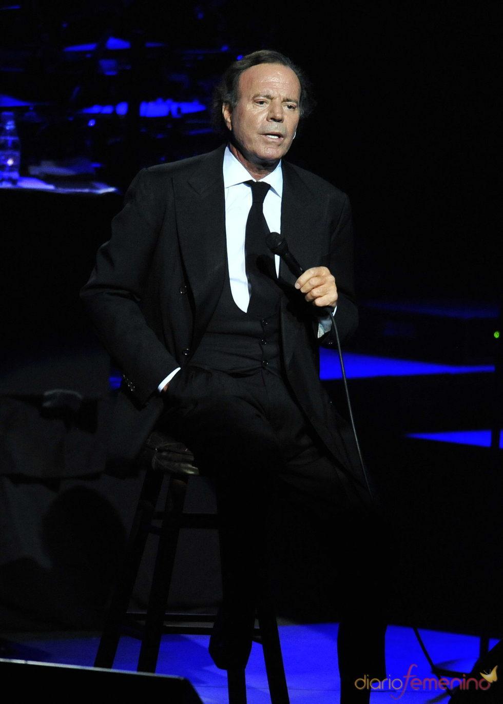 Julio Iglesias actuará en el Liceu de Barcelona