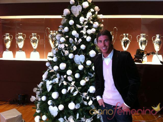 Sergio Ramos felicita la Navidad 2010