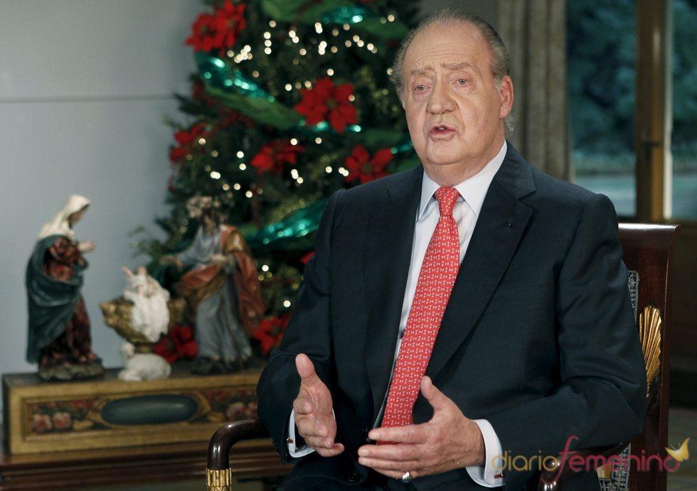 El rey obtiene muy poco seguimiento en su discurso navideño