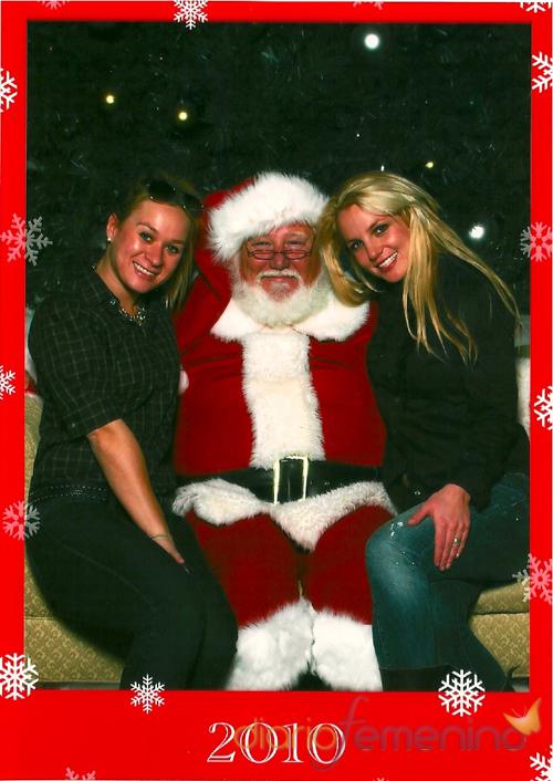 Felicitación navideña de Britney Spears