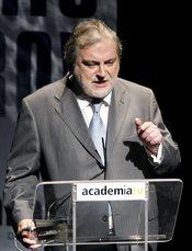 Luis Mariñas en la Academia de Cine