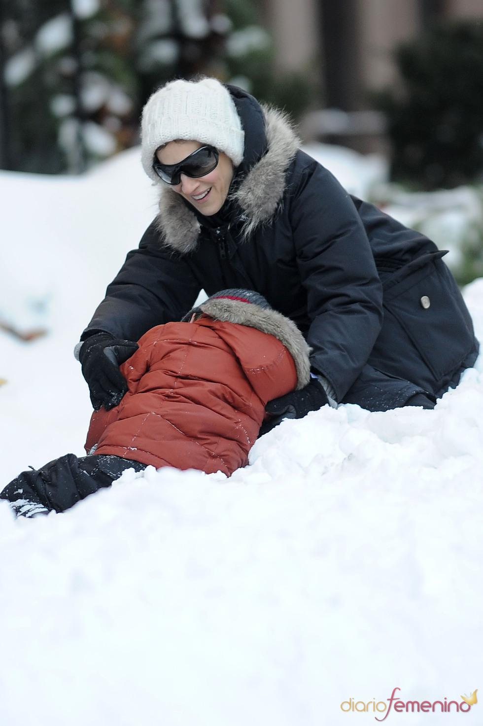 Sarah Jessica Parker, Navidad en la nieve