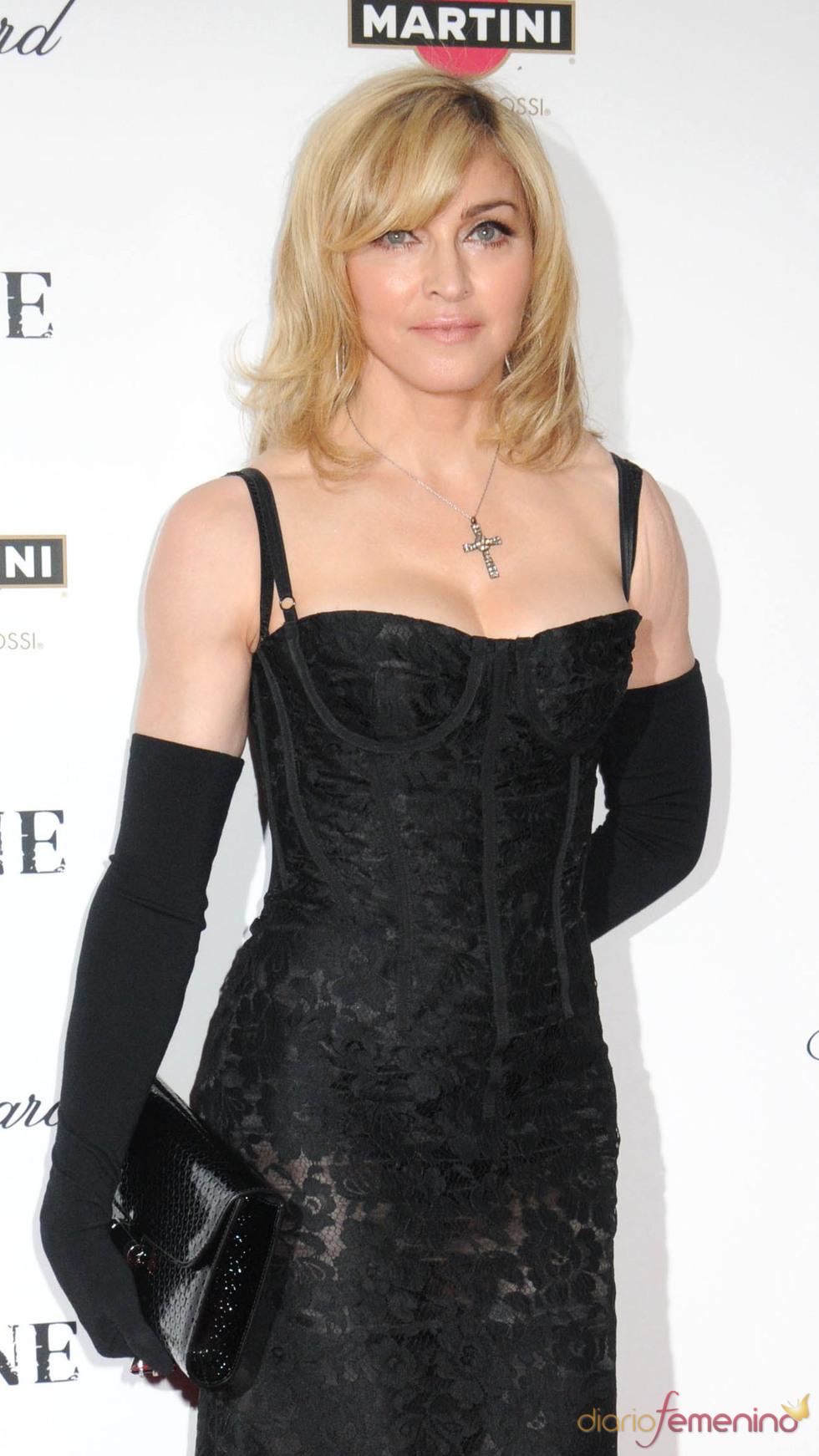 Madonna durante un acto celebrado en diciembre de 2009