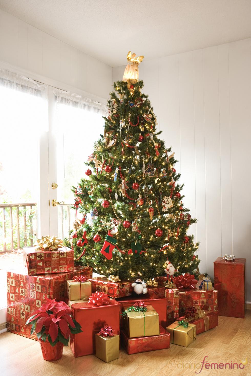 Rbol de navidad - Imagenes de arboles navidad decorados ...