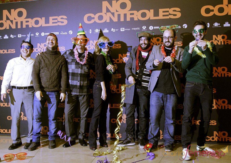Presentación en Madrid de la comedia 'No controles'