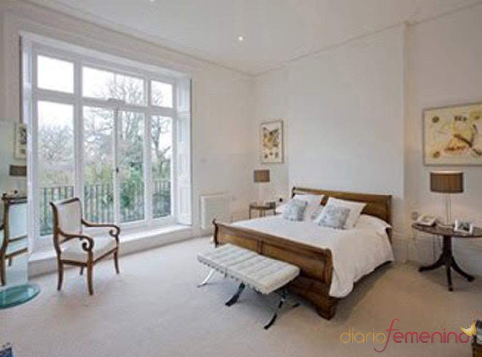 La habitación de la casa de Jude Law y Sienna Miller