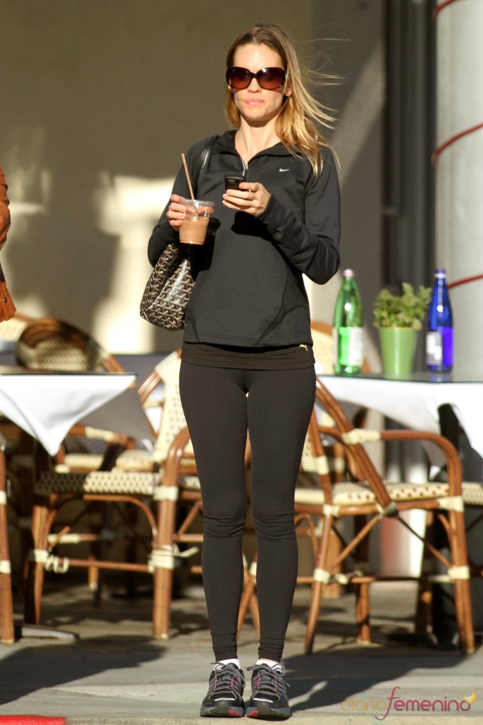 Hilary Swank lanza su propia línea de ropa deportiva