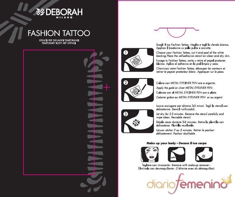 Fashion Tattoo de Deborah Milano