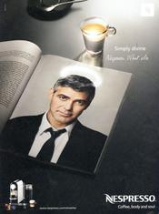 George Clooney presta su imagen a Nespresso