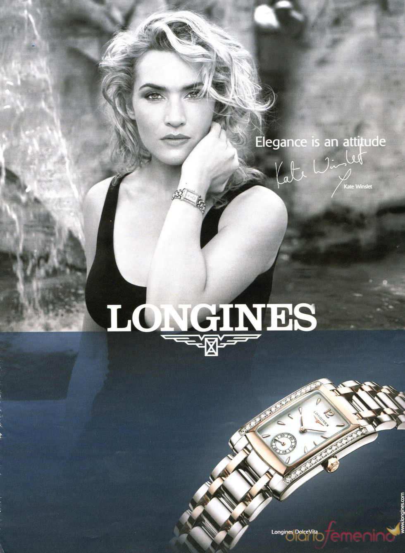 Kate Winslet presta su imagen a Longines