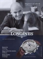Andre Agassi presta su imagen a Longines