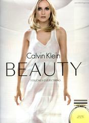 Diane Kruger, imagen del perfume Calvin Klein Beauty