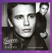 James Franco, imagen del perfume Gucci by Gucci