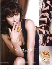 Sophie Marceau, imagen de la marca de joyas Chaument