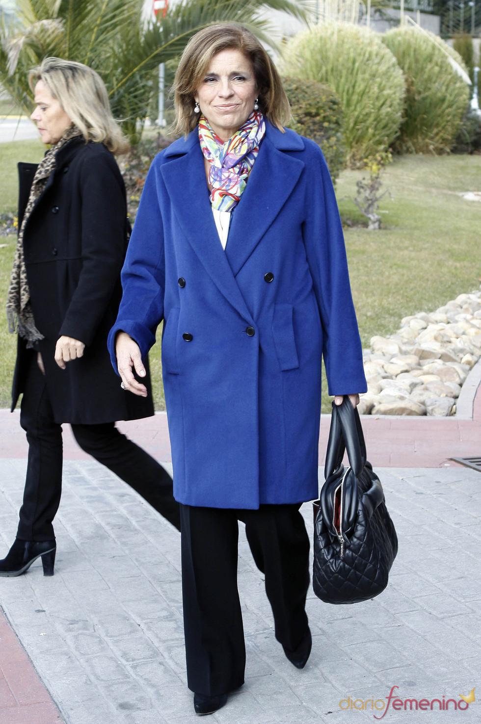 Ana Botella despide a Luis Mariñas