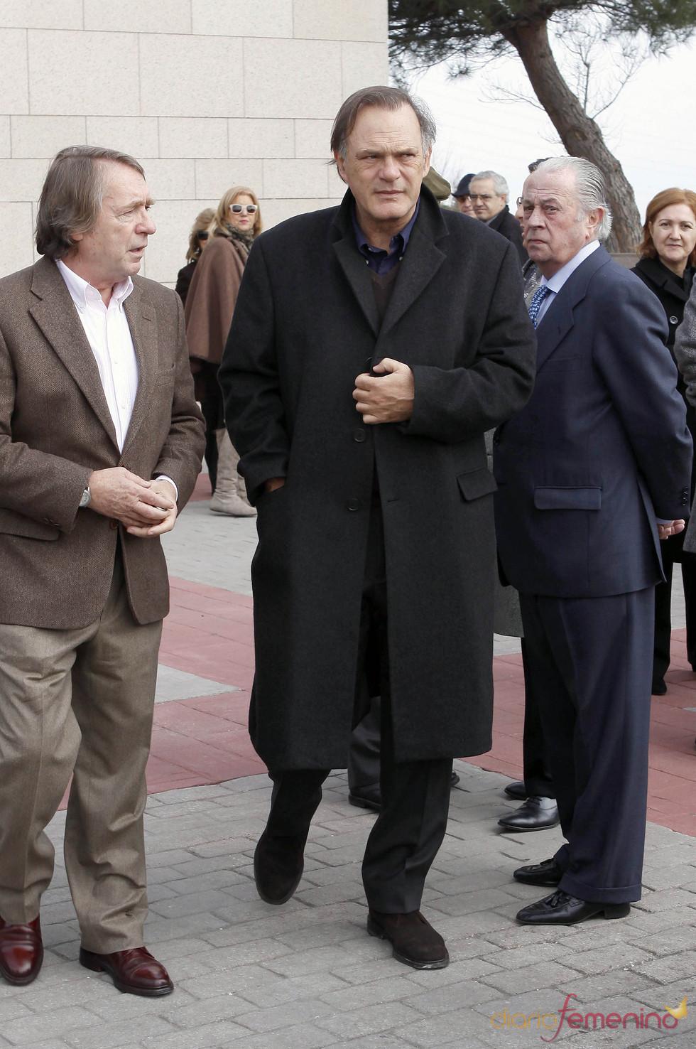 Pedro Piqueras despide a Luis Mariñas