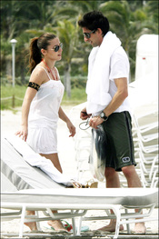 Elsa Pataky y Adrien Brody, de vacaciones