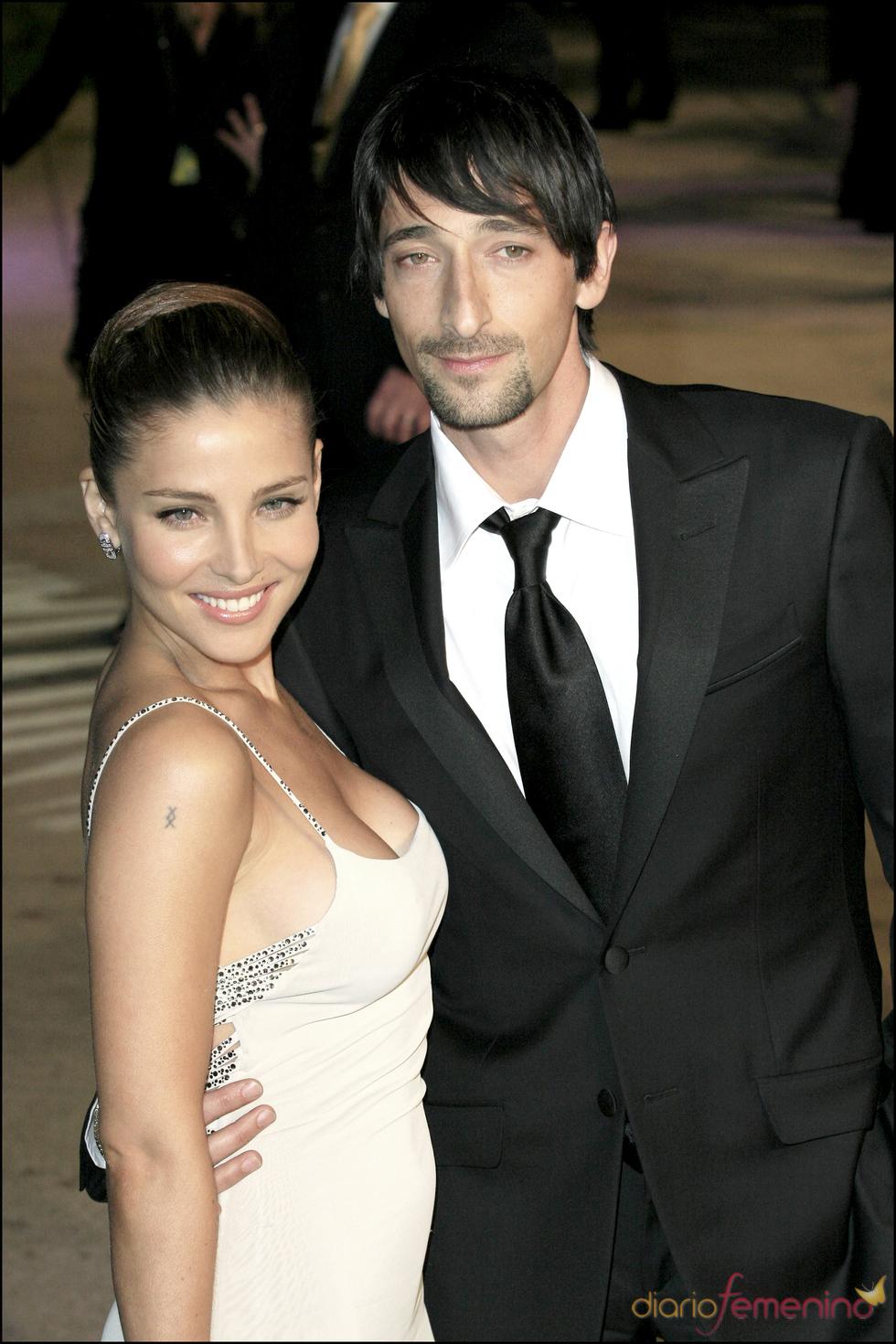 Adrien Brody y Elsa Pataky posan muy felices