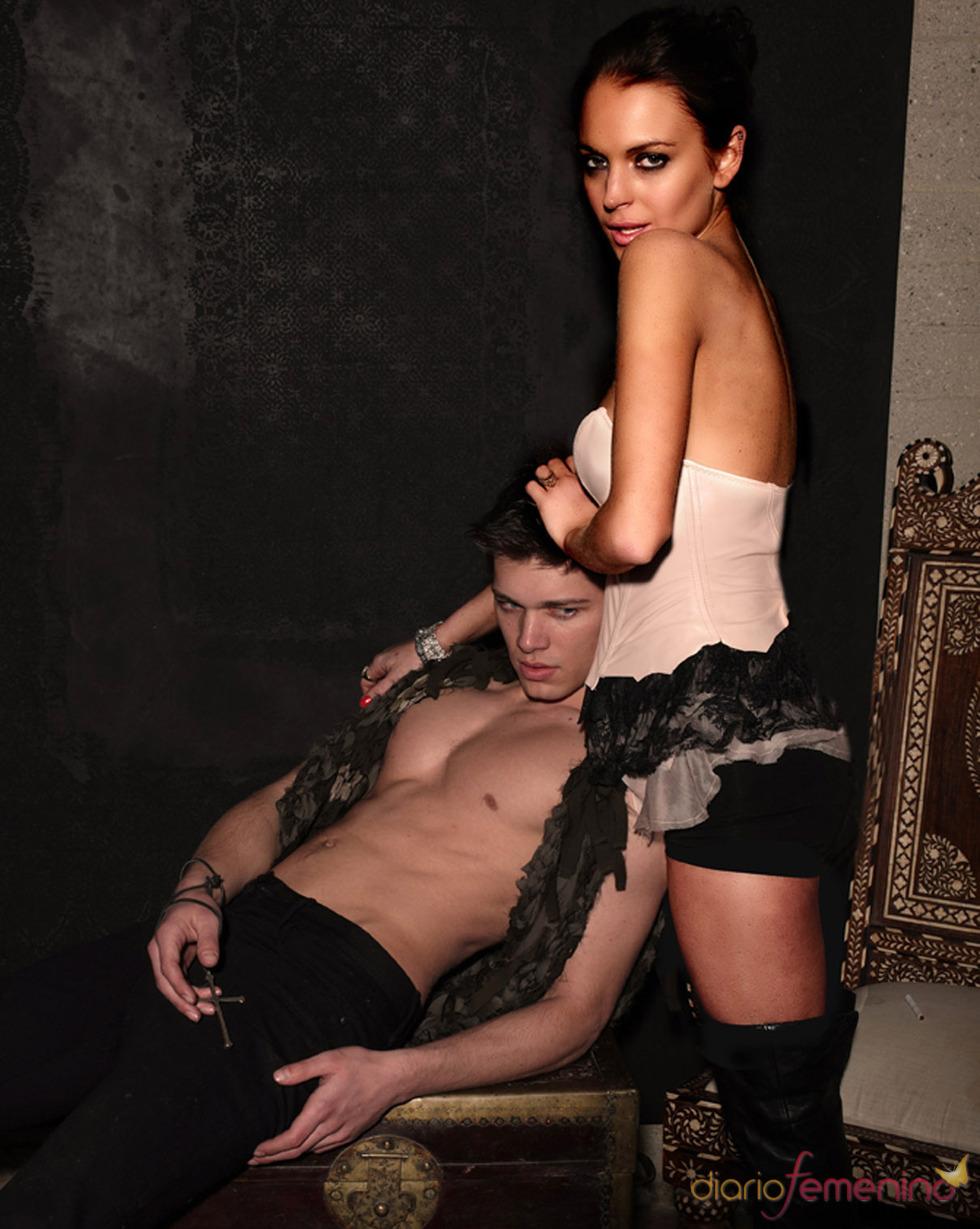 Lindsay Lohan muy sexy en su nueva línea de ropa