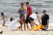 Andrea, Pierre y Carlota Casiraghi, de vacaciones en Brasil