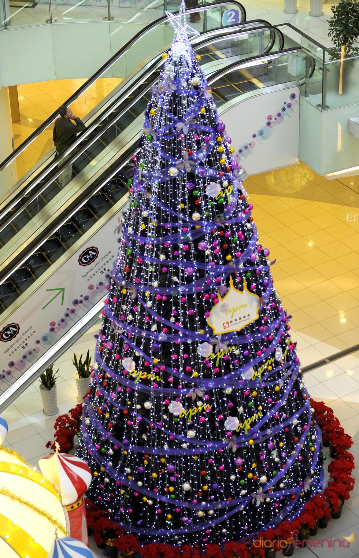 Árbol de Navidad en Beijing