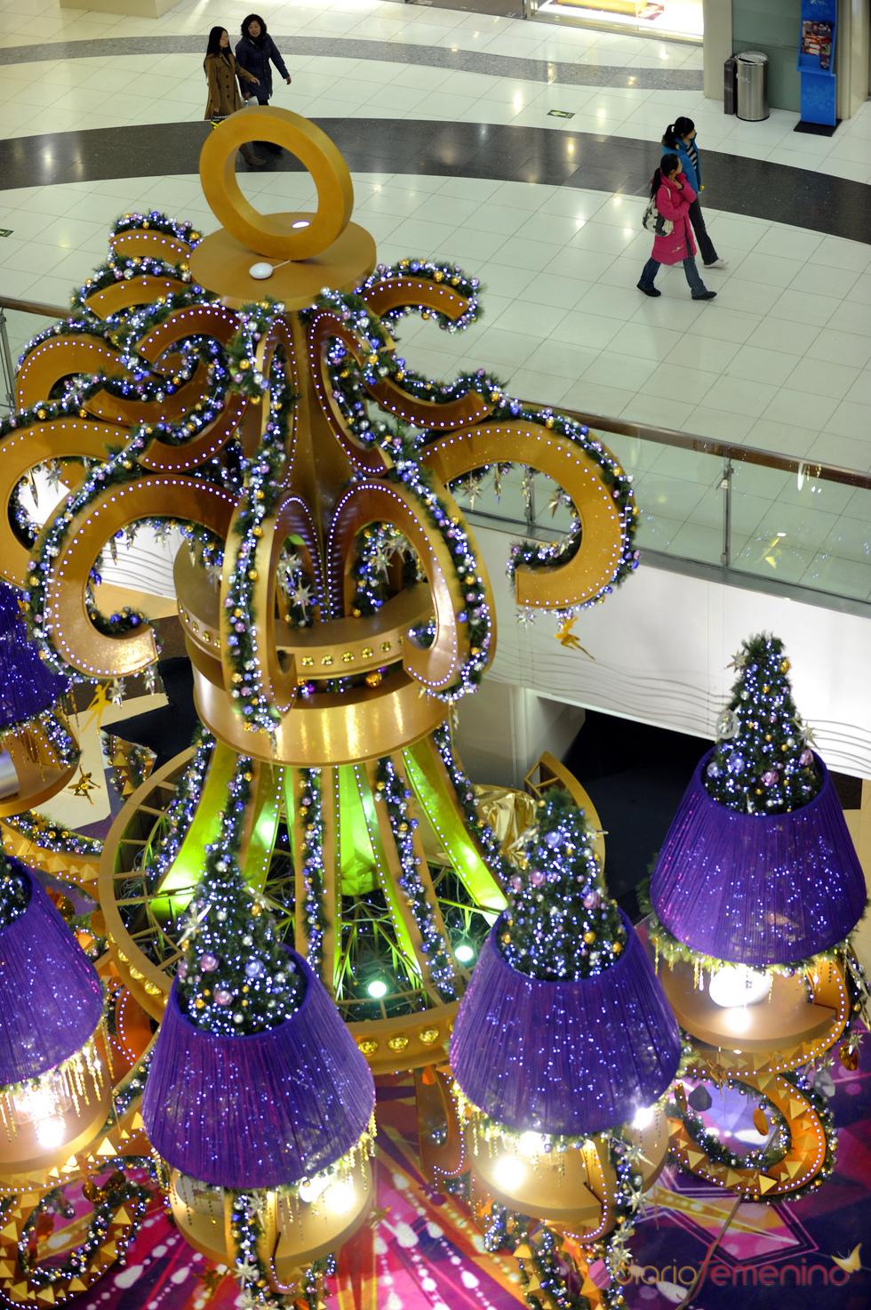 Decoración navideña en China