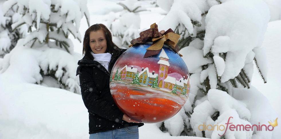 Árbol gigantesco de Navidad en Alemania