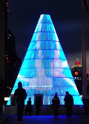 Original árbol de Navidad de Beijing