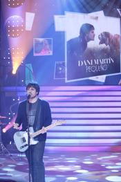 Dani Martín en la Gala 'El disco del Año'