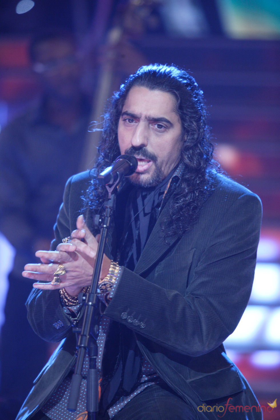 Diego 'El Cigala' en la Gala 'El disco del Año'