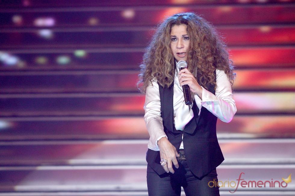 Lolita Flores en la Gala 'El disco del Año'
