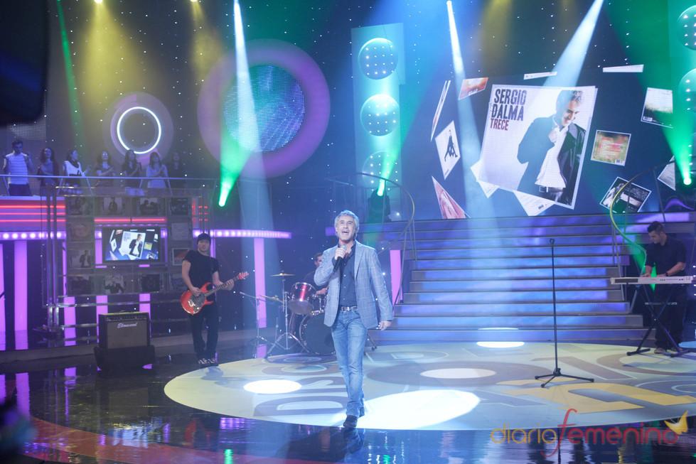 Sergio Dalma en la Gala 'El disco del Año'