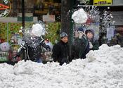 Nueva York afectada por un fuerte temporal