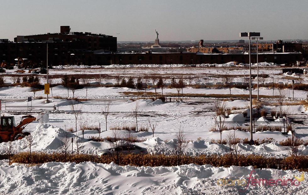 Caos en Nueva York tras la gigantesca nevada