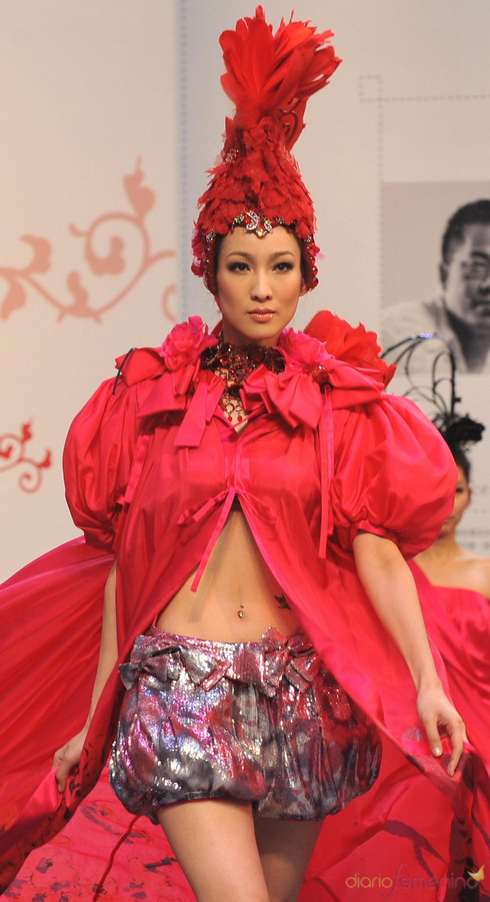 Rojo pasión en la 'Taipei International Flora Expo'
