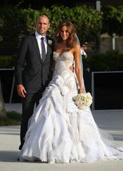 Chris Judd y Rebecca Twigley  se casan en Melbourne