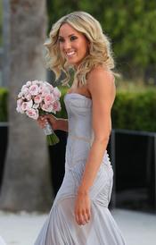 La estrella de fútbol australiano, Chris Judd, se casa
