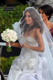 Rebecca Twigley espectacular el día de su boda con Chris Judd