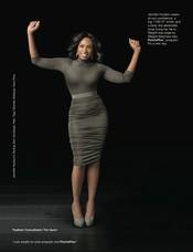 Jennifer Hudson muestra muy orgullosa su nueva figura