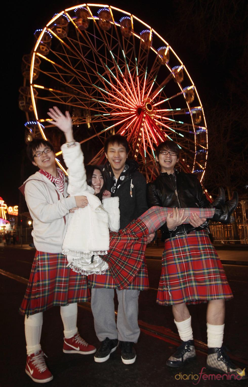 Celebraciones del año nuevo de 2011 en Edimburgo