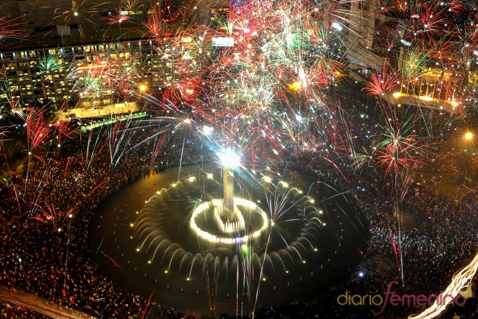 Feliz 2011 en Jakarta