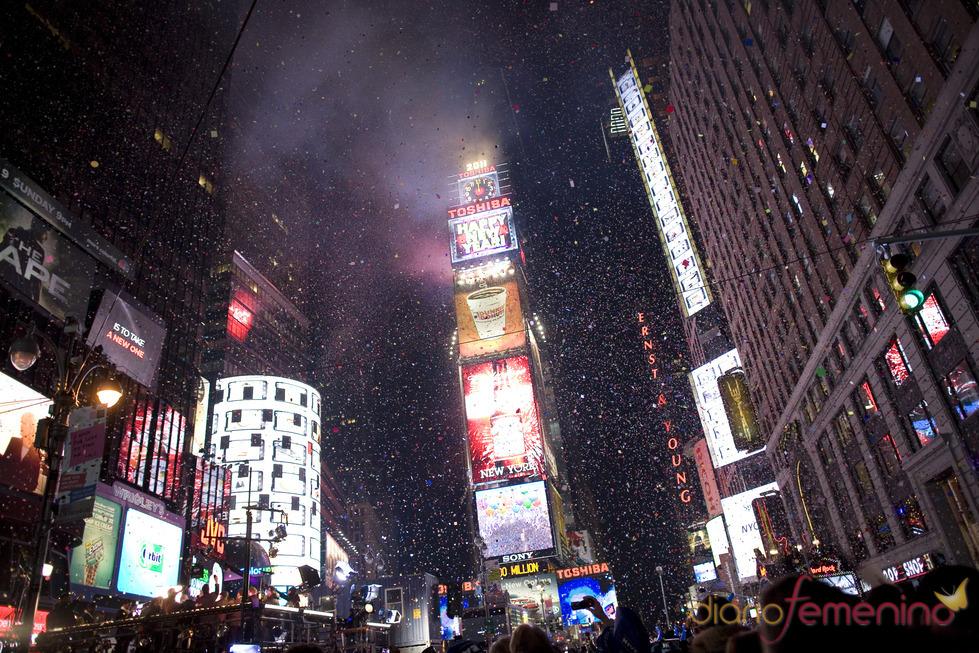 Celebraciones del año nuevo 2011 en Time Square Nueva York