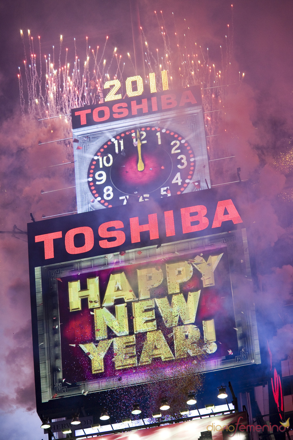 Feliz 2011 en Nueva York