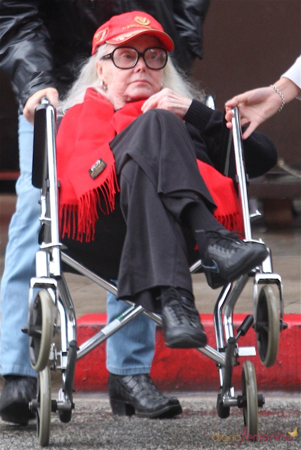 Zsa Zsa Gabor a principios de 2010