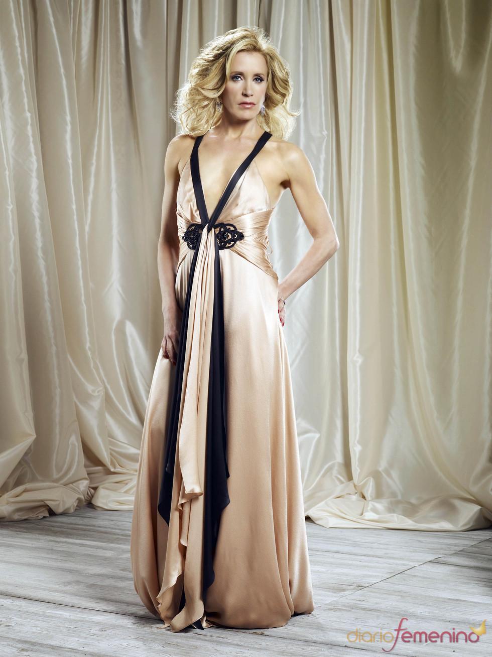 Felicity Huffman, muy sexy en la promoción de 'Mujeres desesperadas'