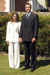 Amaia Salamanca y Fernando Gil en 'Felipe y Letizia'